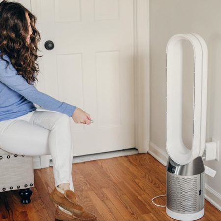 The best air purifier is also a cooling fan - the Dyson Pure Cool Air Purifier is a certified asthma and allergy friendly fan and air purifier.   #LTKhome