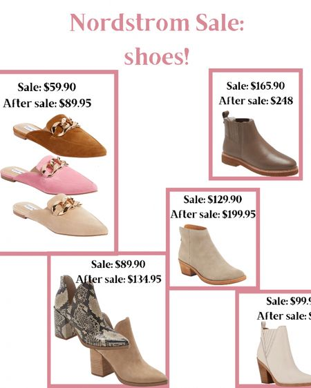 http://liketk.it/3jETy #liketkit @liketoknow.it Nordstrom 2021 sale fines mules booties white booties snakeskin booties