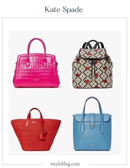 Kate Spade, Sale, Beach Bag, Pool Bag, Backpack, Croc-Embossed, Leather, Satchel, Tote.  #LTKitbag #LTKworkwear #LTKstyletip