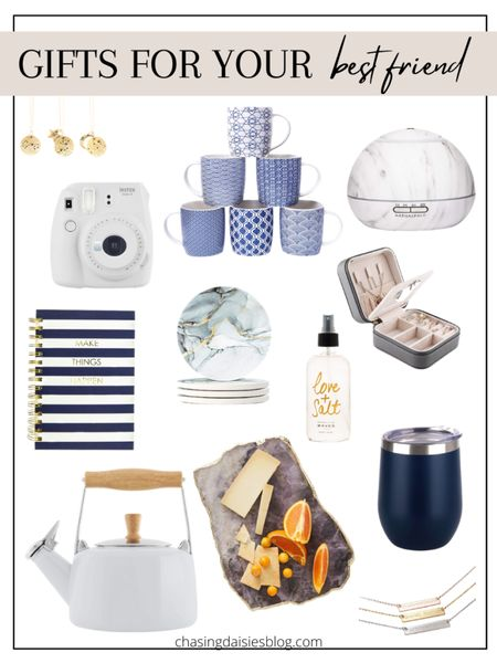 Shop these gifts for your best friend. These are the best gifts for BFF or gifts for her. If you're looking for gifts for your best friend then you'll love these BFF gifts! #giftsforbff #giftsforbestfriend #giftguide #giftsforher #liketkit @liketoknow.it #LTKunder50 #LTKSeasonal #LTKunder100 http://liketk.it/38rxn