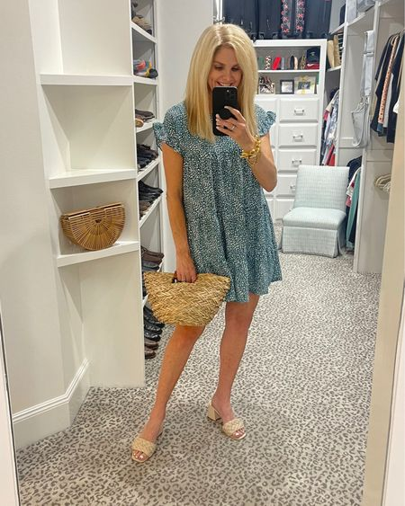 All the Friday feels!   Short dress with simple shoe. Easy breezy style. Linking several shoe options. Wearing size S dress.   Shop your screenshot of this pic with the LIKEtoKNOW.it shopping app   http://liketk.it/3hgkw #liketkit @liketoknow.it #LTKshoecrush #LTKstyletip #LTKunder100