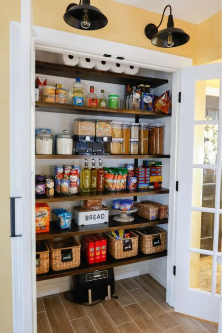 Pantry organization 😍  Walmart home, target home, cleaning, clean home, dream home, under 50, daily deals, 5 stars, amazon finds, amazon deals, daily deals, deal of the day, dotd, bohemian, farmhouse decor, farmhouse, living room, master bedroom, home organization, kitchen decor  💕Follow for more daily deals, home decor, and style inspiration 💕  #LTKunder100 #LTKsalealert #LTKhome