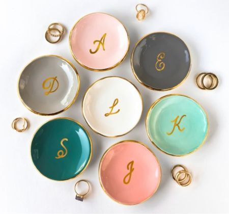 Love all these pastel colors for these ring dishes / catch alls   #LTKGiftGuide #LTKunder50 #LTKhome