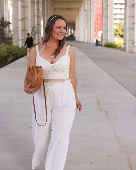 The perfect summer outfit! My linen pants & crop top together are on sale for less than $50 now. http://liketk.it/2DV0d @liketoknow.it #liketkit