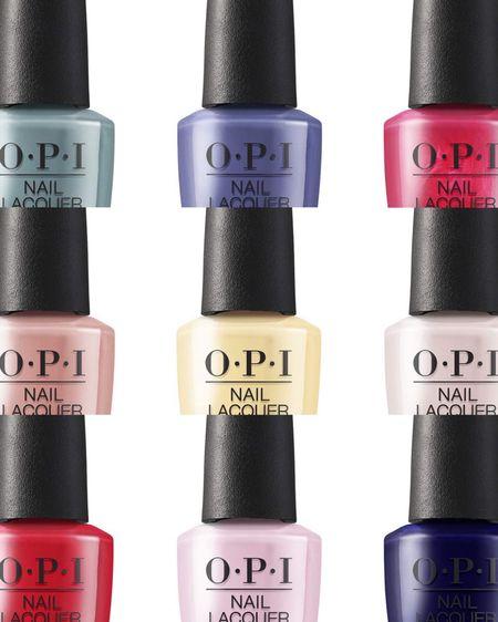 OPI new spring nails favorites Use my code 25OPI to save on your faves  http://liketk.it/3dCpc #liketkit @liketoknow.it #LTKstyletip #LTKunder50 #LTKbeauty
