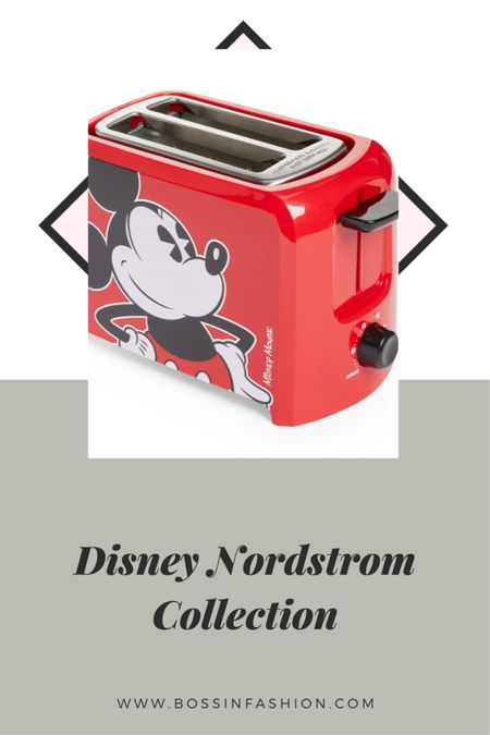 Shop my favorite home pieces from the limited Disney x Nordstrom pop up collection. I love this Disney toaster! #disney #disneytoaster #toaster #nordstrompopup #nordstromanniversarysale #nordstromsale  #LTKhome