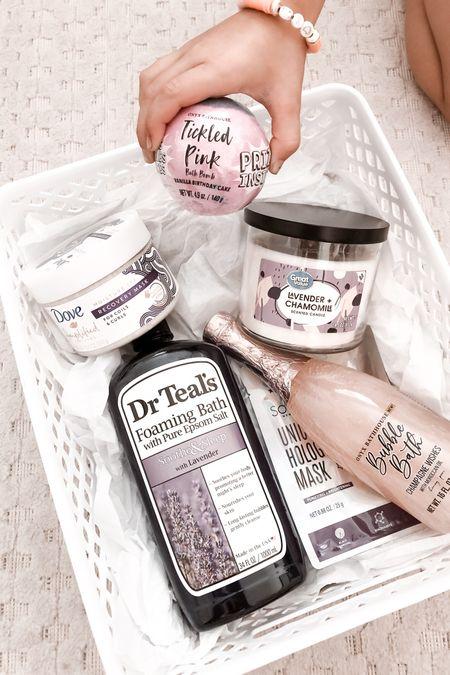 Relaxation gift basket goodies. @liketoknow.it http://liketk.it/3ggwK #liketkit #LTKfamily #LTKstyletip #LTKunder50