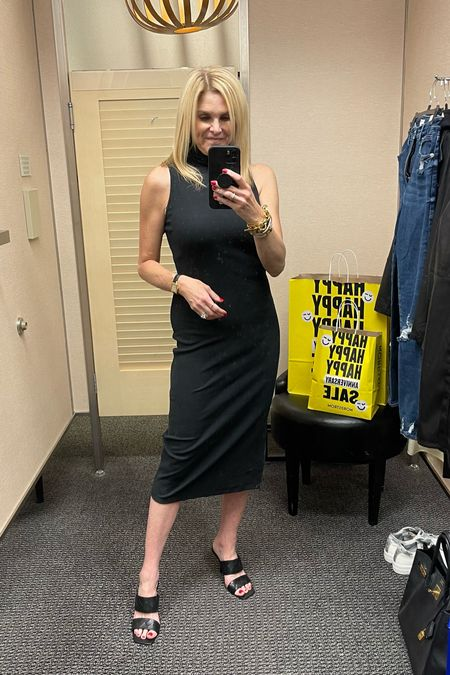 Great black dress under $50!    #LTKunder50 #LTKshoecrush #LTKsalealert