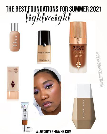 Best summer foundations 2021 #summerfoundation #foundation #makeup #liketkit @liketoknow.it #LTKbeauty #LTKunder50 #LTKeurope @liketoknow.it.europe @liketoknow.it.home @liketoknow.it.family   http://liketk.it/3erhS