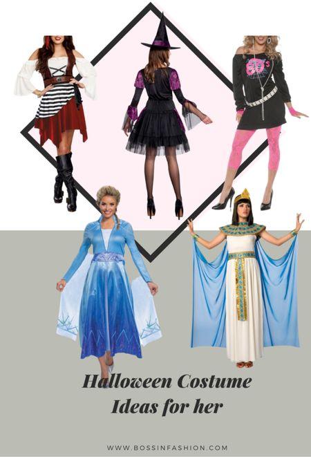 Halloween is in October! Shop my favorite adult women costumes! I love being Cleopatra to Elsa from Frozen! Shop my favorite Halloween costume looks for women.   #LTKstyletip #LTKHoliday #LTKSeasonal