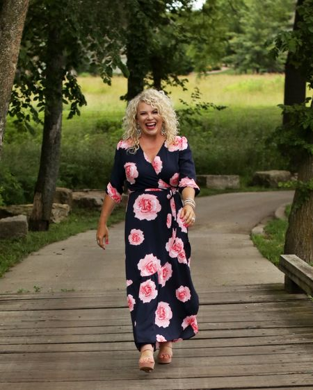 I just wore this floral dress in photos for the back of my book! 😳🥰 I absolutely love it!!! http://liketk.it/2CJy8  #liketkit @liketoknow.it