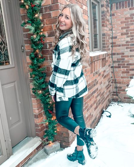 one of my fav winter looks! Nasty Gal boots on #sale , so make sure to grab yours before they are gone!! #sale #nastygal #boots #winterinspo #shacket #shein #fauxleather #leatherpants #ootd #inspo #liketoknowit #ltkunder #fashion #fashionblogger #k #liketoknowitstyle http://liketk.it/3awOt #liketkit @liketoknow.it