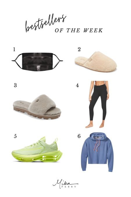 This week's bestsellers : skin-friendly silk face mask, cozy clippers, my fave black leggings, Nike sneakers, fall sweatshirt that comes in tons of colors!  Fall outfit ideas Nordstrom Target Athleta Beauty Skincare  #LTKstyletip #LTKbeauty #LTKunder50