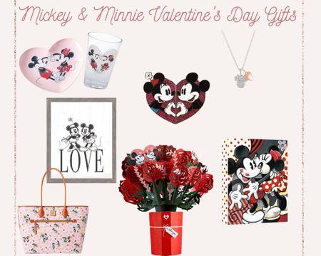 http://liketk.it/36PHQ #liketkit #LTKSeasonal #LTKVDay @liketoknow.it Some sweet Mickey & Minnie gift ideas for Valentine's Day! | ShopDisney Pottery Barn Amazon Valentine's Day Gift Guide Disney Dooney & Bourke
