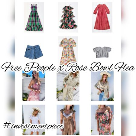 One of my favorite things is shopping vintage at the #rosebowlflea. And now we can all do that online @freepeople These are some of my faves from the current #vintage drop! #investmentpiece   #LTKstyletip #LTKunder100 #LTKSeasonal