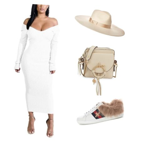 Styling a white dress is so much fun. This white dress can go from winter outfits to a spring outfit and it would make a great vacation outfit.    Shop your screenshot of this pic with the LIKEtoKNOW.it shopping app    http://liketk.it/38tMI #liketkit @liketoknow.it #LTKstyletip #LTKSeasonal #LTKunder50 #amazinfinds #designerbag #ltkbag #whitedress #winteroutfit #springoutfit #vacationoutfit