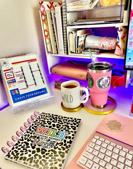 It's been a Beautiful Tuesday So far, I'm on my 4th cup of coffee 🤦🏽♀️ and still trying to make it through the day 😂  Can anyone relate!?  Loving this corner of my desk!  #LTKhome #LTKunder50 #LTKunder100