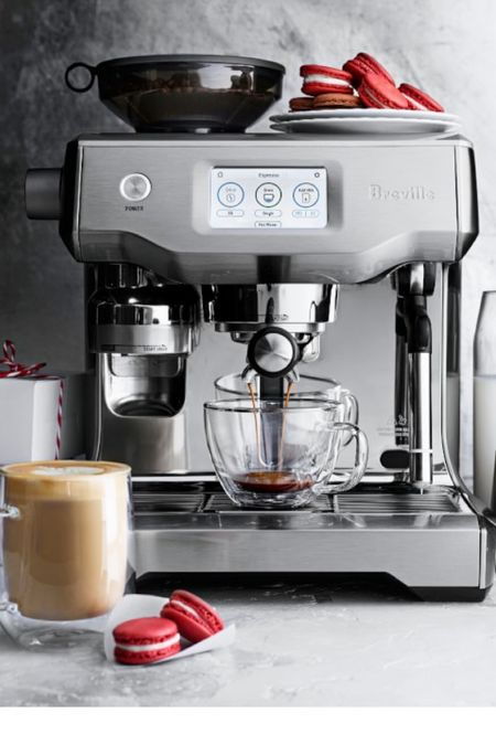 But like, this is the best coffee maker. #breville #oracle #oracletouch   #LTKhome #LTKfamily #LTKwedding