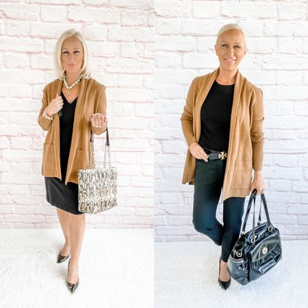 Blazer Look / Work Blazer / Workwear / Work Wear / Office Look / Office Outfit / Business Casual / Office Casual / Work Outfit / Tory Burch / Kate Spade /  Coach Handbags / Handbag /petite / over 40 / over 50 / over 60 / Fall Outfit / Fall Fashion    #LTKSeasonal #LTKitbag #LTKworkwear