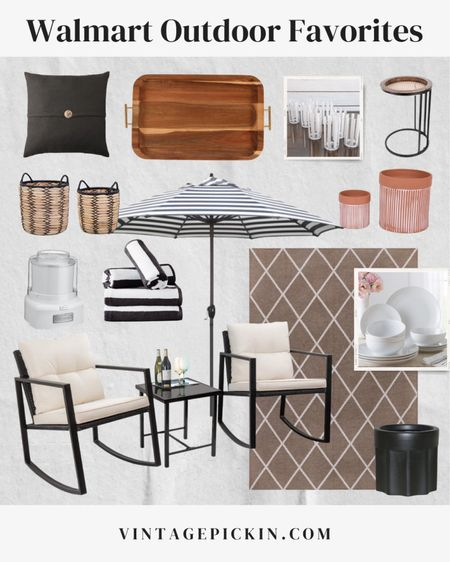 Walmart Summer Outdoir Favorites!  Rounded up all my patio items I used to refresh our outdoor space this dummer! Walmart is where it's at! These outdoor pillows are only $15.00! #ad  #LTKunder50 #LTKsalealert #LTKhome @liketoknow.it.home @liketoknow.it.family  http://liketk.it/3iCxl #liketkit @liketoknow.it