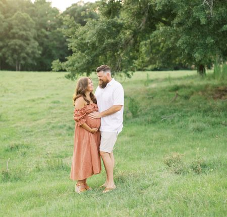 Learn how I created this maternity look for less than $50!  blog.jennaturner.co/maternitydress  #LTKfamily #LTKstyletip #LTKbump