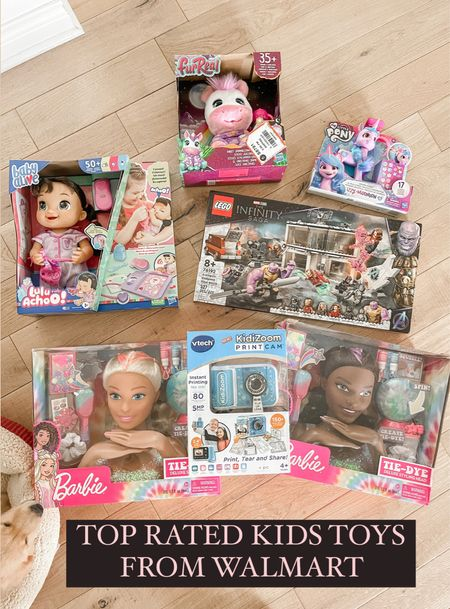 Top rated kids toys from Walmart!  Toy gift guide for kids.   #LTKHoliday #LTKkids #LTKGiftGuide