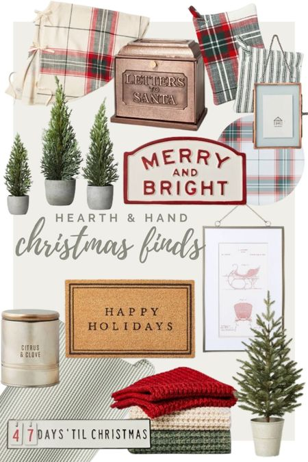 I am loving the new Hearth & Hand Christmas Collection at Target! Here are some of my favorites!   #LTKHoliday #LTKhome #LTKSeasonal