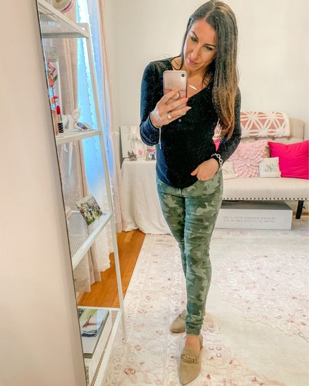 Camo pants and layered bracelets http://liketk.it/3aXTn #liketkit @liketoknow.it #LTKbeauty #LTKshoecrush #LTKstyletip