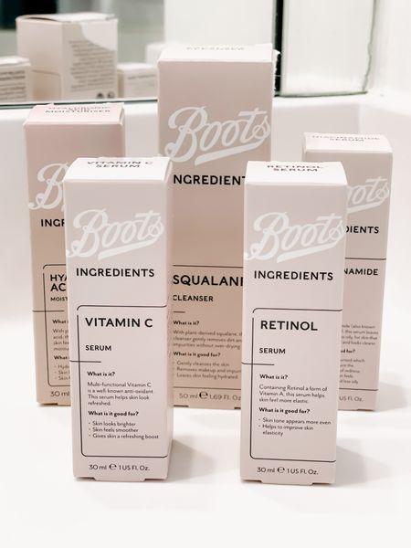 Skincare for less! Target, skincare routine, affordable, serum, moisturizer   #LTKunder50 #LTKbeauty