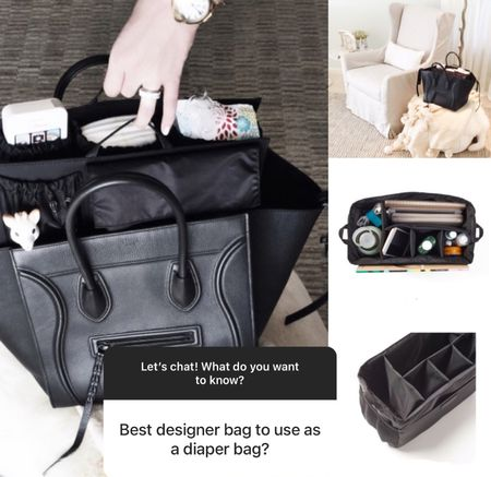 I actually use a diaper bag insert that I pull in and out of whatever bag I'm using. Keeps me totally organized and allows for any bag to be a diaper bag!  #LTKbaby #LTKbump #LTKkids