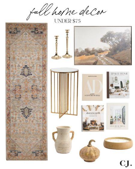 Fall home decor finds under $75  #LTKhome #LTKunder50 #LTKunder100