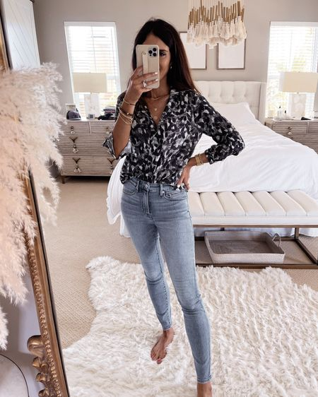 Fall outfit, long sleeve top, jeans, stylinbyaylin  Follow my shop on the @shop.LTK app to shop this post and get my exclusive app-only content!   #LTKunder50 #LTKstyletip #LTKunder100