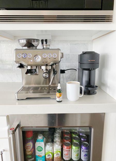 New year, new beverage station set up ☕️🍵 Great Valentines gift idea! Coffee bar, Nespresso, Vertuo, Breville, Ember, mug, kitchen decor, home organization   #LTKVDay #LTKunder50 #LTKhome