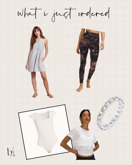 Brighton butler's most recent purchase includes a summer dress, lululemon align leggings, lululemon cates tee, a Walmart bodysuit, and a ring from Amazon.   http://liketk.it/3hlQZ #liketkit @liketoknow.it