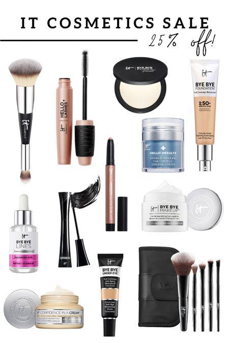 It cosmetics sale! My favorite cosmetics brand is 25% off right now   #LTKbeauty #LTKSale #LTKsalealert