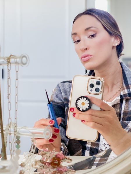 Nourishing liquid eyeliner by Babe Lash. Easy to apply, easy to remove.    Shacket   #LTKunder50 #LTKbeauty #LTKunder100
