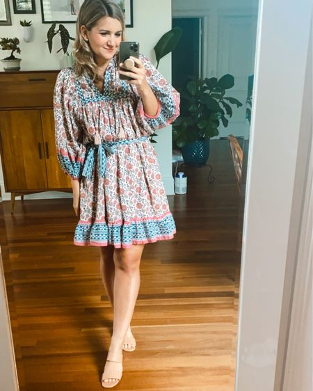My new Cleobella dress! It runs big and blousy so size down if you're in between sizes! I'm wearing an XS. @liketoknow.it http://liketk.it/3jPbN #liketkit