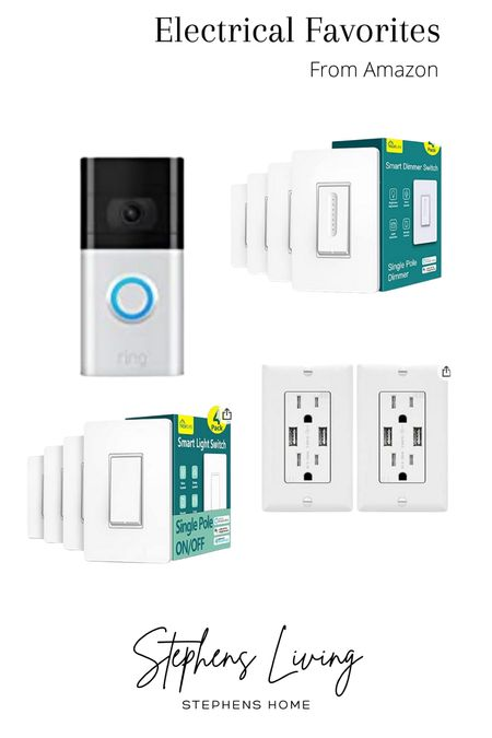 Amazon favorites for electrical . . .     #LTKhome