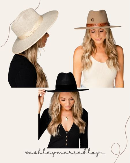 Buddy love felt wide brim hats and fedoras on sale!   #LTKSale #LTKstyletip #LTKGiftGuide