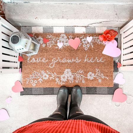 Love Grows Here! #LTKValentines #ValentinesDay #LTKtarget Hunter Boots   #LTKhome