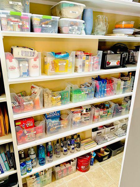 Pantry Organization   #LTKunder50 #LTKhome #LTKSeasonal