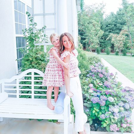 Mommy and me   http://liketk.it/3jm6M #liketkit @liketoknow.it #LTKkids #LTKfamily #LTKunder100  Mini me / porch / mermaid / shell / girls / mommy matching