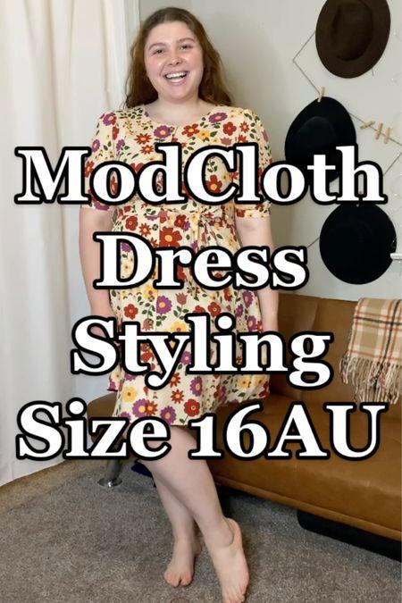 Linking both of my dresses from my TikTok here! Use code ModLiz15 for 15% off at #modcloth http://liketk.it/3gK4k #liketkit @liketoknow.it #midsize #plussizedress