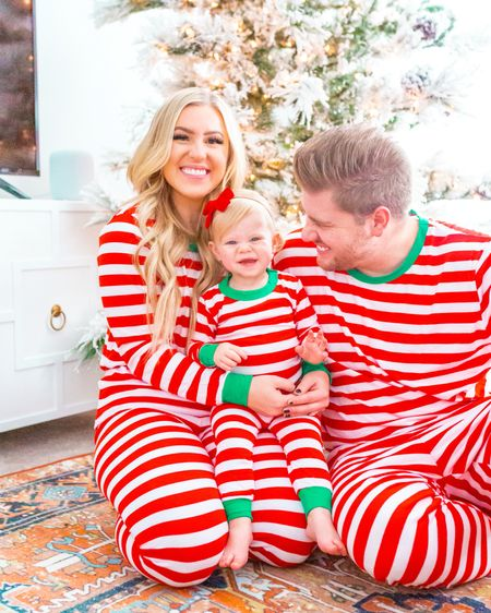 Christmas Eve is HERE🙌🏻 and jammies are a my favorite tradition! These two have made the Christmas season so fun & special this year. Now, I just can't wait for Santa to come visit tonight! I heard Rowan was EXTRA good this year 🎅🏻 I hope you all have a wonderful holiday! (Picture #3: Rowan showing she is one, picture #5: Rowan blowing on the tree)    http://liketk.it/34xuf #liketkit @liketoknow.it #LTKfamily #LTKunder50 #LTKkids