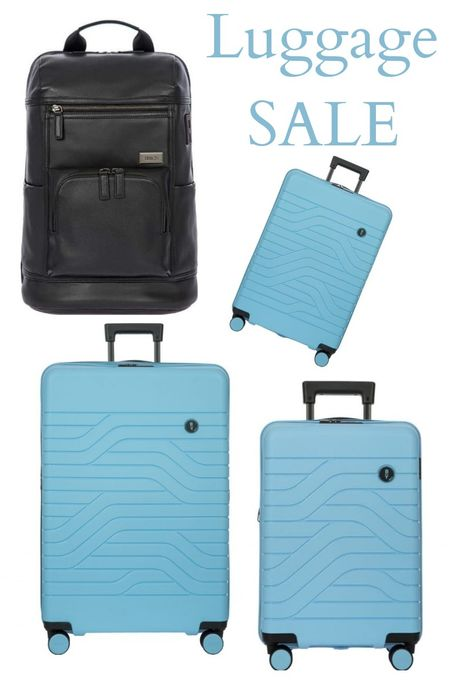 Big luxury luggage sale at Bric's.  Some pieces are 50% off.  Yes, we got ours too.   #travel #brics #bricsluggage #luxuryluggage #vacation #luggage #carryonluggage #dufflebags #carryon