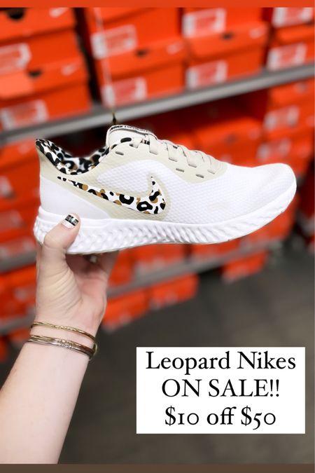 Leopard Nikes on sale! http://liketk.it/3iiPK #liketkit @liketoknow.it #LTKunder50 #LTKshoecrush #LTKsalealert