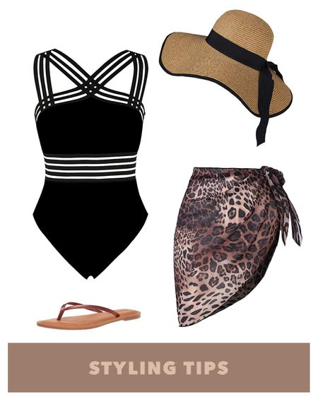 A mesh one piece swimsuit paired with a beach wrap, straw hat and flip flops makes a perfect poolside or vacation outfit. Shop my daily looks by following me on the LIKEtoKNOW.it shopping app http://liketk.it/39BAj #liketkit @liketoknow.it l #LTKcurves #LTKsalealert #LTKstyletip #LTKtravel #LTKunder50 #LTKshoecrush #LTKitbag #LTKunder100 # #LTKSeasonal #LTKswim  Beach vacation   swimwear   swim   summer fashion   amazon finds   amazon fashion   vacation outfits   vacation   amazon swimsuits   beach outfit   one piece bathing suit   pool party   wrap skirt   beach wrap skirt   beach hat  