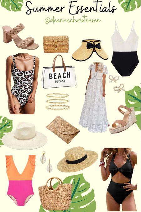 Summer Essentials 💚 #liketkit @liketoknow.it http://liketk.it/3hsYi #LTKunder50 #LTKshoecrush #LTKswim