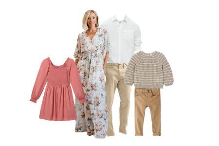 What to Wear | Spring Family Photos  #LTKSeasonal #LTKfamily #LTKkids