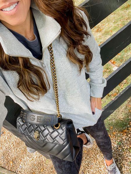 Casual style. Sweatshirt pullover. Lululemon leggings. Sneaker style. Evereve.   #LTKstyletip #LTKshoecrush